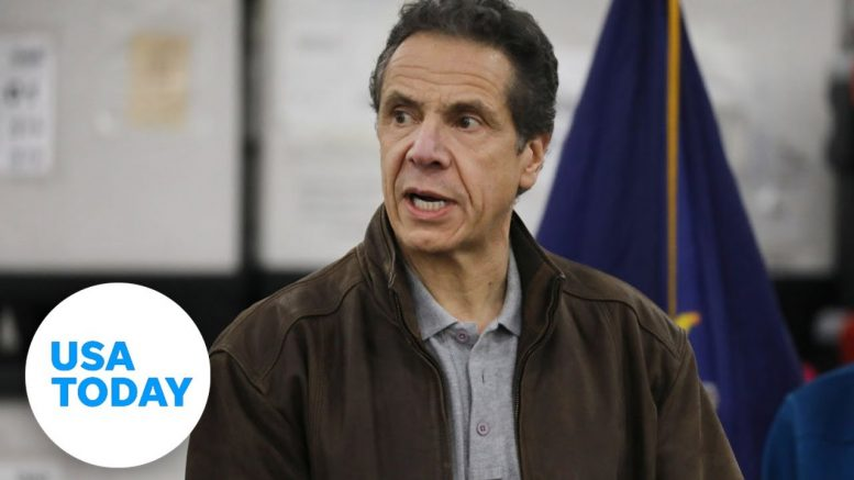 Gov. Andrew Cuomo addresses latest with COVID-19's effect on New York | USA TODAY 1