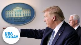 President Trump and the coronavirus task force update on pandemic - Wednesday, April 8 | USA TODAY 7