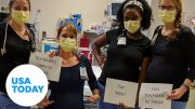 Pregnant nurses have urgent message for America | USA TODAY 2