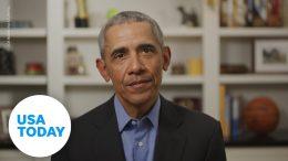 Obama officially endorses Biden for president | USA TODAY 9