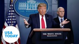 President Trump and coronavirus task force update on pandemic, Monday, April 14 | USA TODAY 3