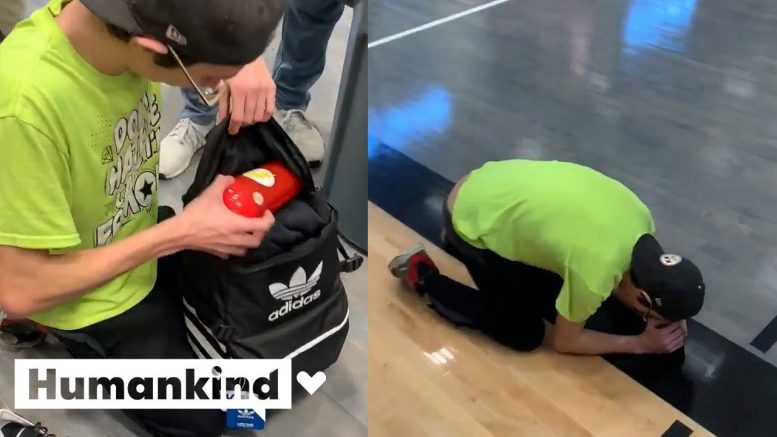 Struggling teen surprised with unexpected gift from caring classmates   Humankind 1