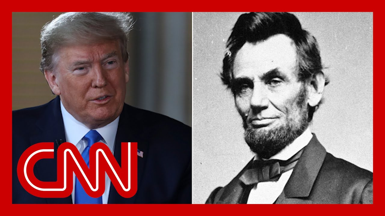 Trump compares himself to Lincoln. Historian says he's wrong 1