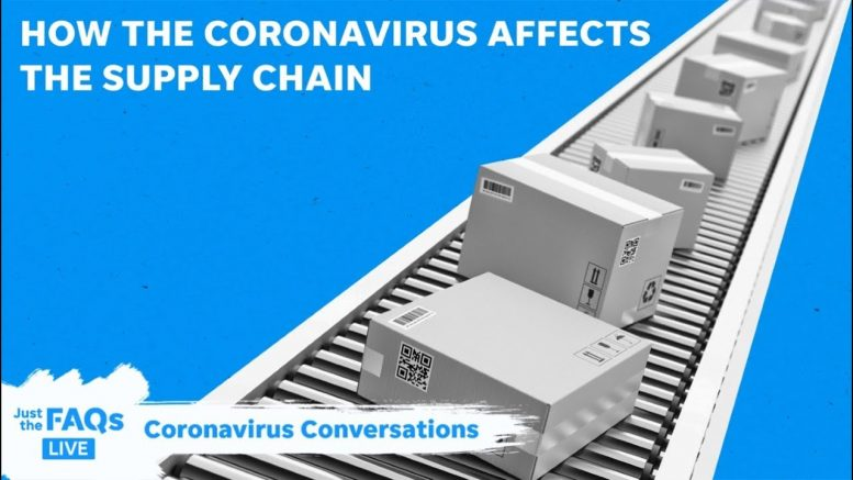 How coronavirus and panic buying are impacting supply chains   Just The FAQs 1