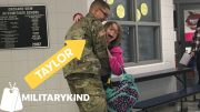 Soldier is 'Uncle of the Year' with three homecoming surprises | Militarykind 4