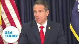 Gov. Andrew Cuomo holds news briefing on pandemic response in New York (LIVE) | USA TODAY 9