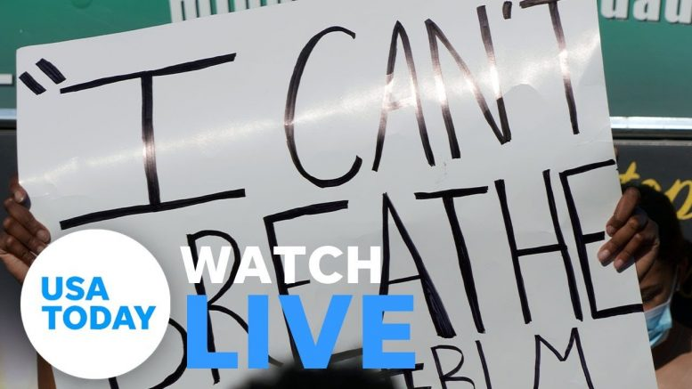 Protesters across U.S. call for justice for George Floyd (LIVE) | USA TODAY 1