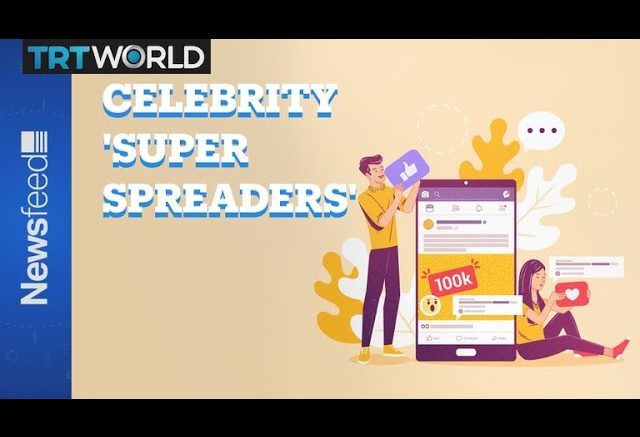 Who are the celeb 'super-spreaders' of fake news? 1