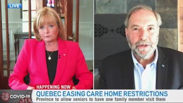 Mulcair critical of Premier Legault's plans to reopen Quebec as COVID-19 outbreak continues 6