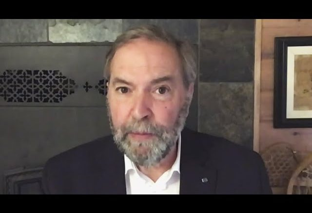 Mulcair blasts Quebec in scathing column, says province has failed its long-term care residents 1