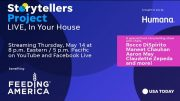 Storytellers Project Live, benefiting Feeding America   USA TODAY Network 2