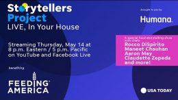 Storytellers Project Live, benefiting Feeding America | USA TODAY Network 8