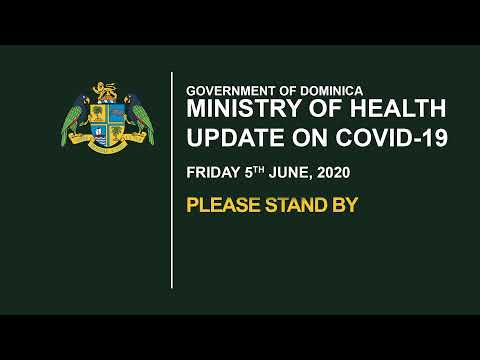 Covid-19 Press Briefing - 5th June 2020 1
