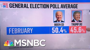 Trump Trailing Joe Biden In String Of New State And National Polls | MSNBC 6