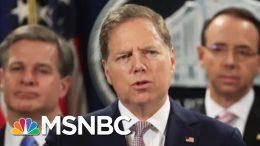 DOJ Tries To Oust U.S. Attorney Who Led Probe Of Trump Associates | The 11th Hour | MSNBC 3