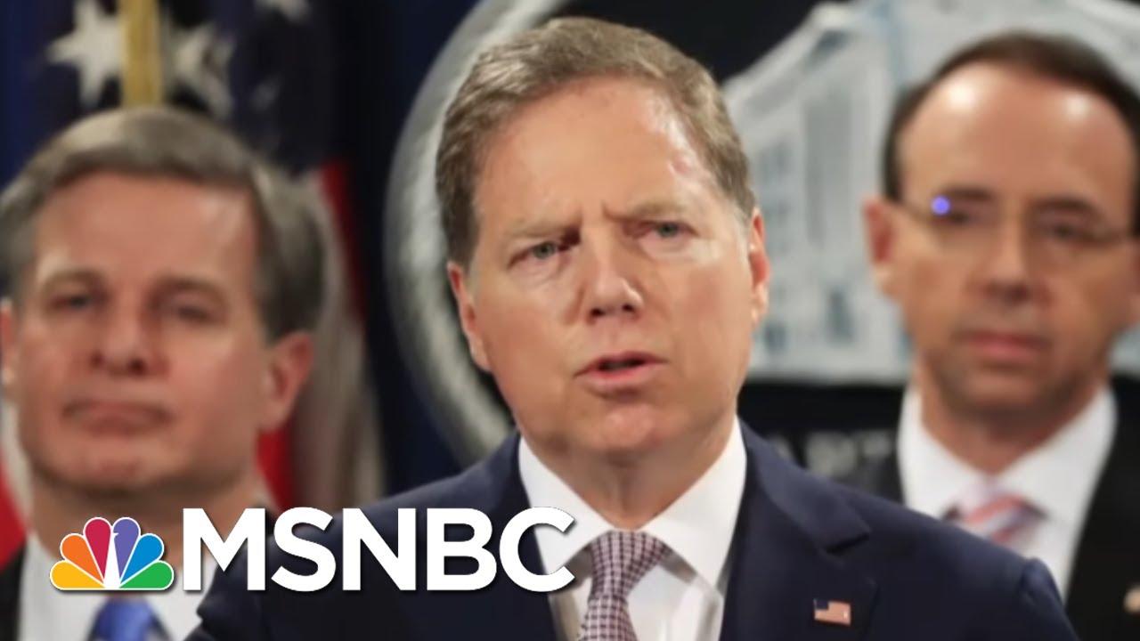 DOJ Tries To Oust U.S. Attorney Who Led Probe Of Trump Associates | The 11th Hour | MSNBC 7