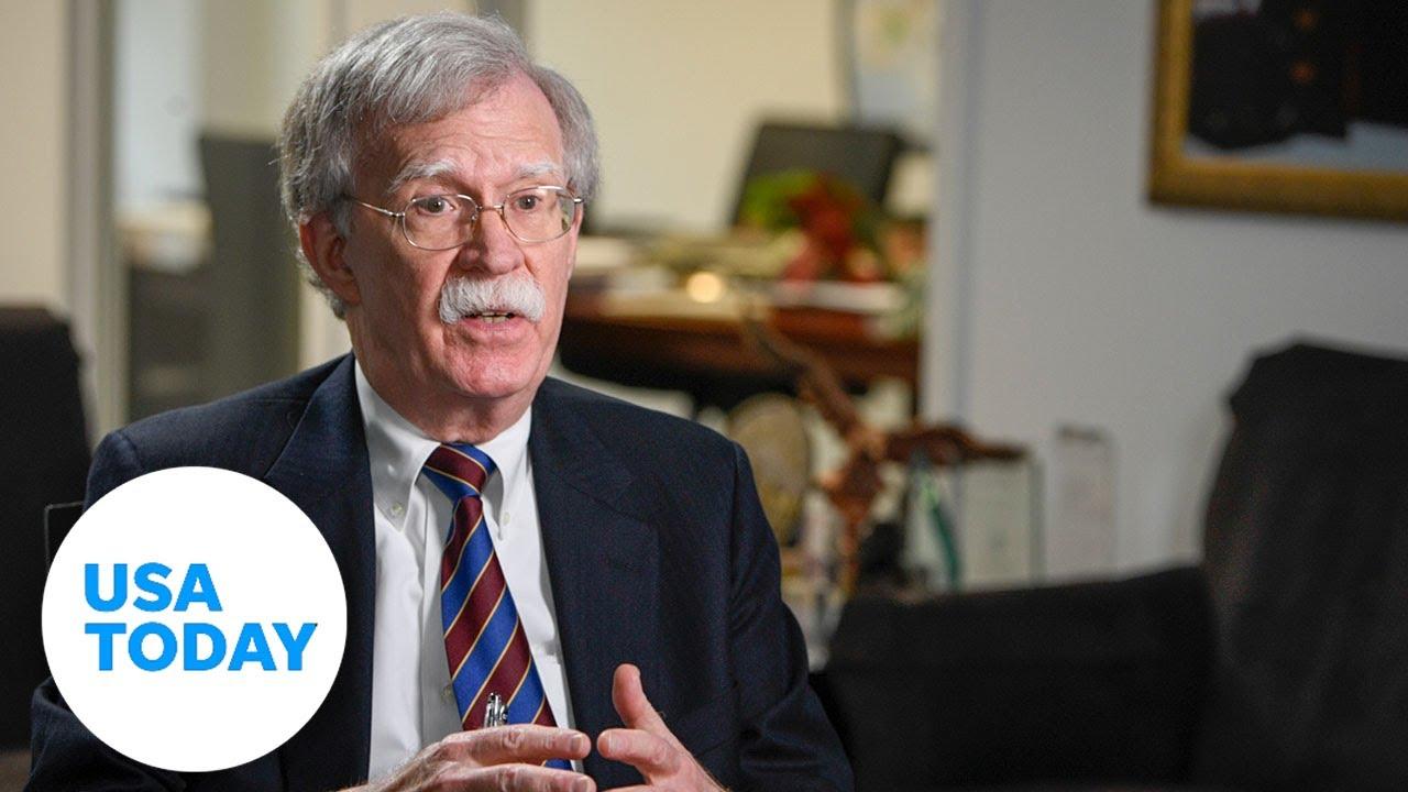 John Bolton talks to USA TODAY   USA TODAY 1