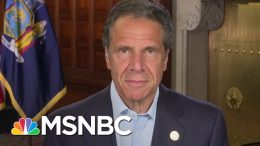 Cuomo: Placing Blame On His Office For Nursing Home Deaths Is A 'Charade'   Stephanie Ruhle   MSNBC 4