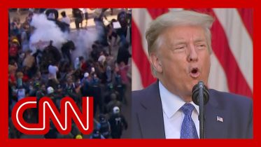 Trump threatens to use military to end riots and lawlessness 6
