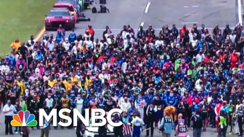 NASCAR Shows Solidarity With Bubba Wallace After Noose Is Found In His Garage | MSNBC 1