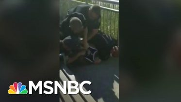 NYPD Officer Suspended After Video Shows Him Apparently Using Chokehold | The Last Word | MSNBC 10