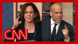 Rand Paul holds up anti-lynching bill. See Harris and Booker's reaction. 7