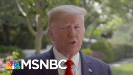 Was Trump Just Joking About Slowing Down Testing? | Morning Joe | MSNBC 3