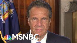 Gov. Cuomo Says NY Considering Quarantining Some Travelers   Morning Joe   MSNBC 3
