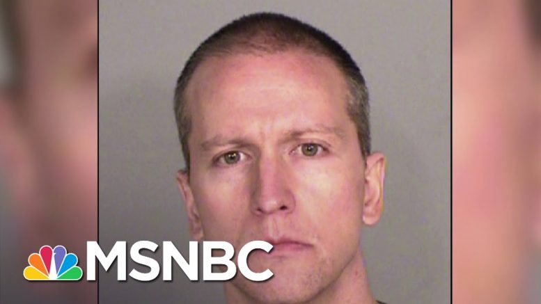 Discrimination Charges Allege Officers Of Color Barred From Guarding Derek Chauvin | MSNBC 1