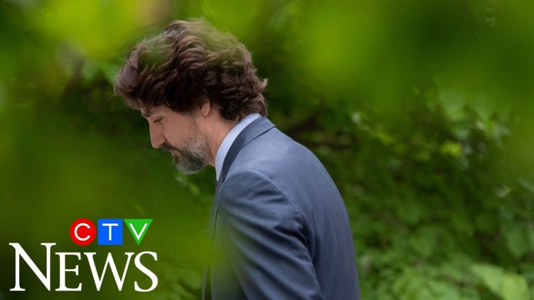 How are people interpreting Trudeau's silent moment? 1