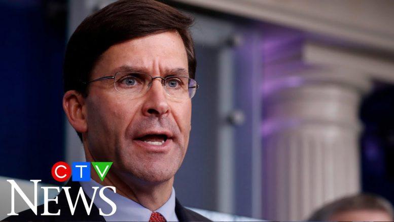 Defense Secretary Esper contradicts Trump on use of Insurrection Act 1