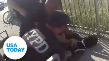 NYPD officer suspended without pay after 'apparent chokehold' | USA TODAY 6