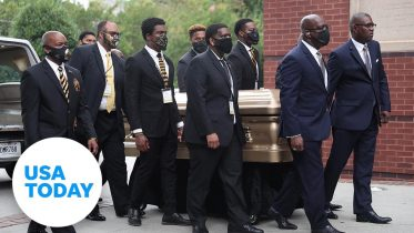 Funeral held for Rayshard Brooks in Atlanta | USA TODAY 6