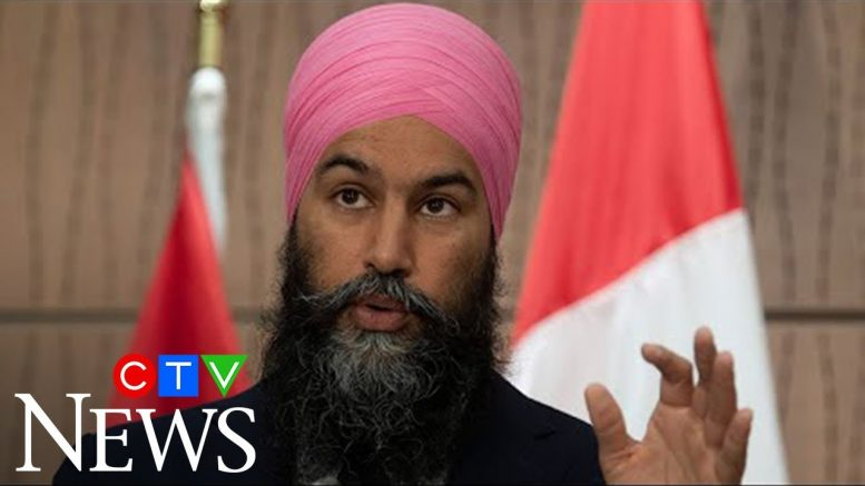 Trudeau 'shouldn't have been silent' on Trump's actions: Singh 1