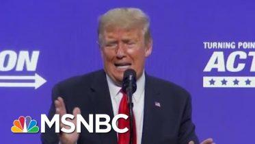 Trump Again Repeats Derogatory Phrase For Coronavirus   Morning Joe   MSNBC 6
