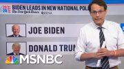 Steve Kornacki: 'The Average Nationally Is A Double-Digit Lead For Joe Biden' | MSNBC 4