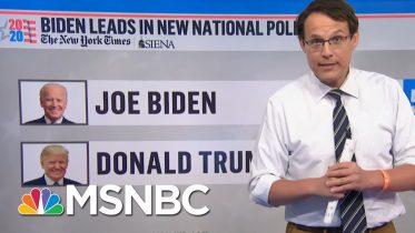 Steve Kornacki: 'The Average Nationally Is A Double-Digit Lead For Joe Biden'   MSNBC 6