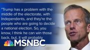 Sen. Thune: President Trump 'Has A Problem With The Middle Of The Electorate' | MTP Daily | MSNBC 3