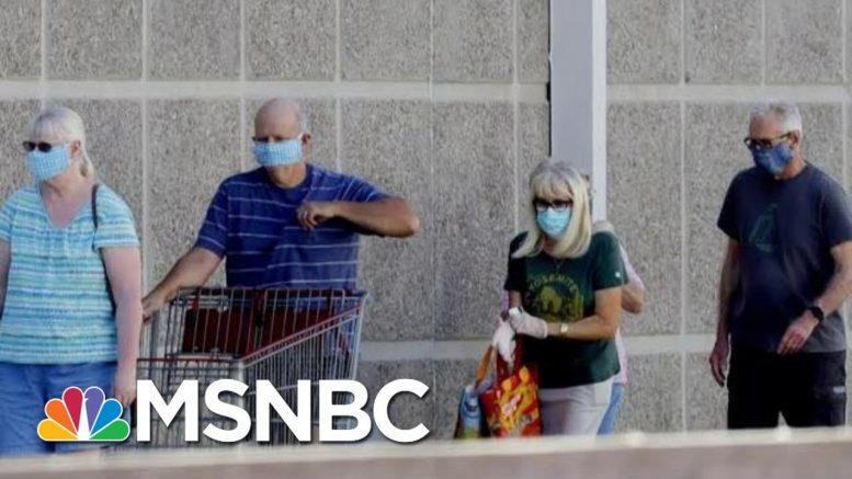 As Trump Falters On COVID, Georgia MAGA Fan Explains What Could Change His Vote | MSNBC 1