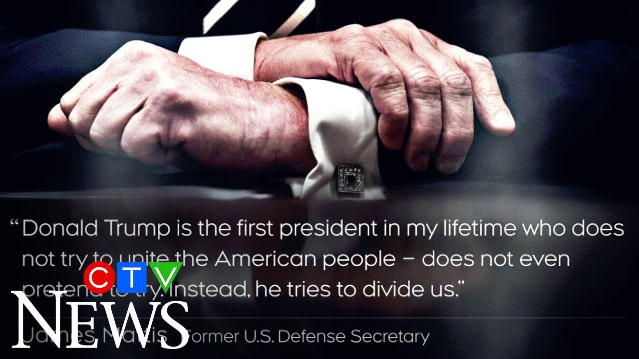James Mattis accuses President Trump of dividing Americans 1