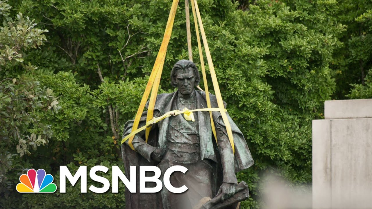 Confederate Monument Removals A Mark Of Progress Long In Coming | Rachel Maddow | MSNBC 1