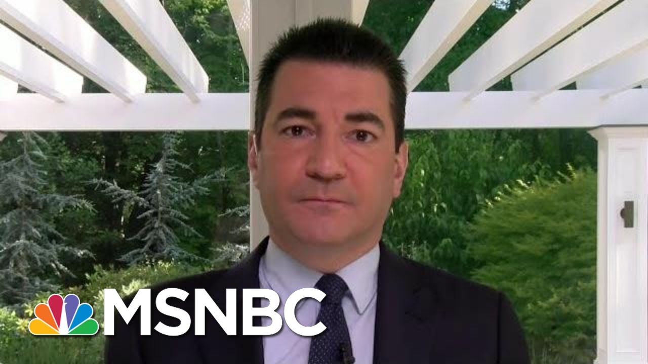 Dr. Gottlieb: Time, Aggressive Steps Needed To Bring Down Cases   Morning Joe   MSNBC 8