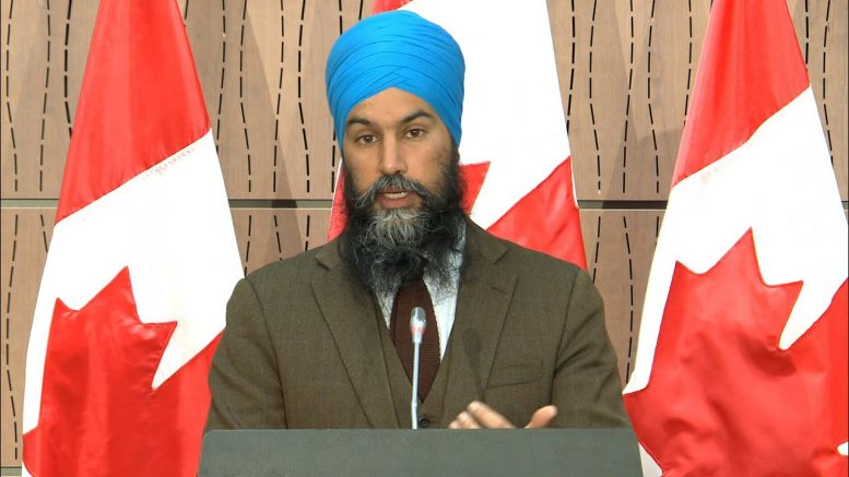 NDP Leader Jagmeet Singh on anti-black racism 1
