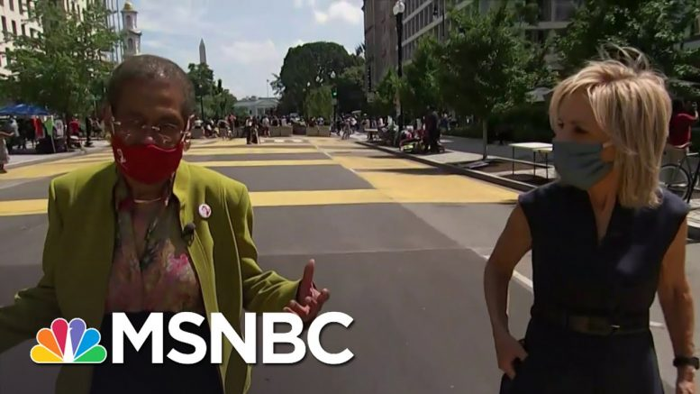 House Set To Hold Historic Vote Backing D.C. Statehood | Andrea Mitchell | MSNBC 1
