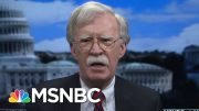 Bolton Says He Didn't Participate During Impeachment Due To 'Gross Incompetence' Of Dems | MSNBC 3