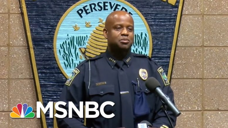 NC Police Officers' Racist Rant Caught On Tape: 'I Can't Wait' For Race War   All In   MSNBC 1