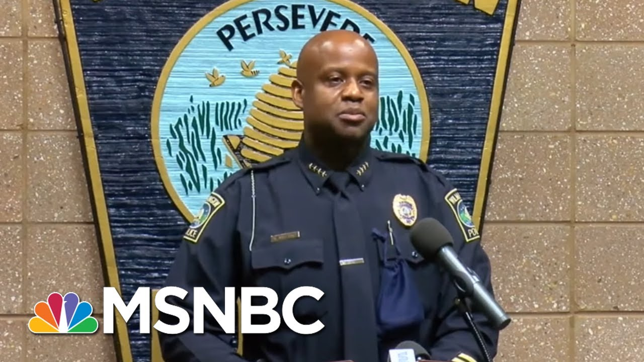 NC Police Officers' Racist Rant Caught On Tape: 'I Can't Wait' For Race War | All In | MSNBC 9