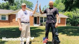 Neighbor paints yard bunny black in show of unity | Humankind 5