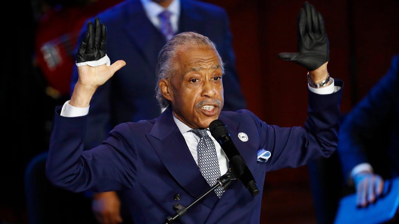 Rev. Al Sharpton eulogizes George Floyd, calls for police reform: 'Get your knee off our necks' 1