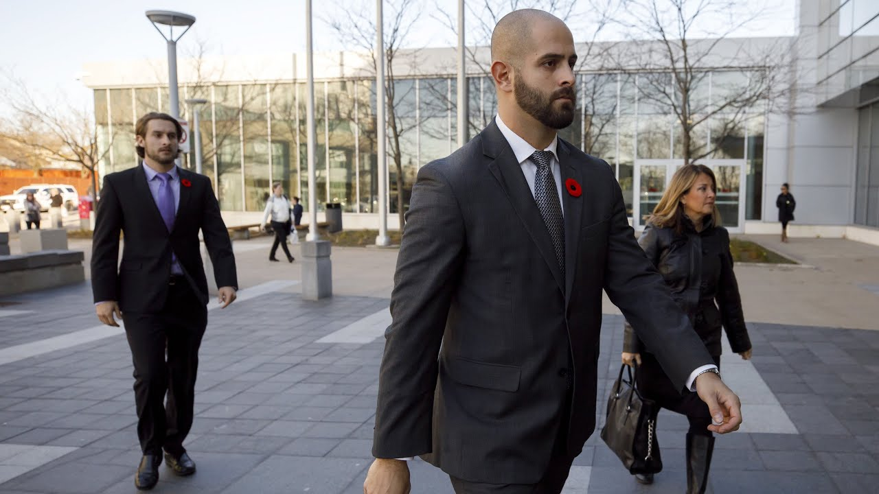 Off-duty officer Michael Theriault found guilty of assault 3